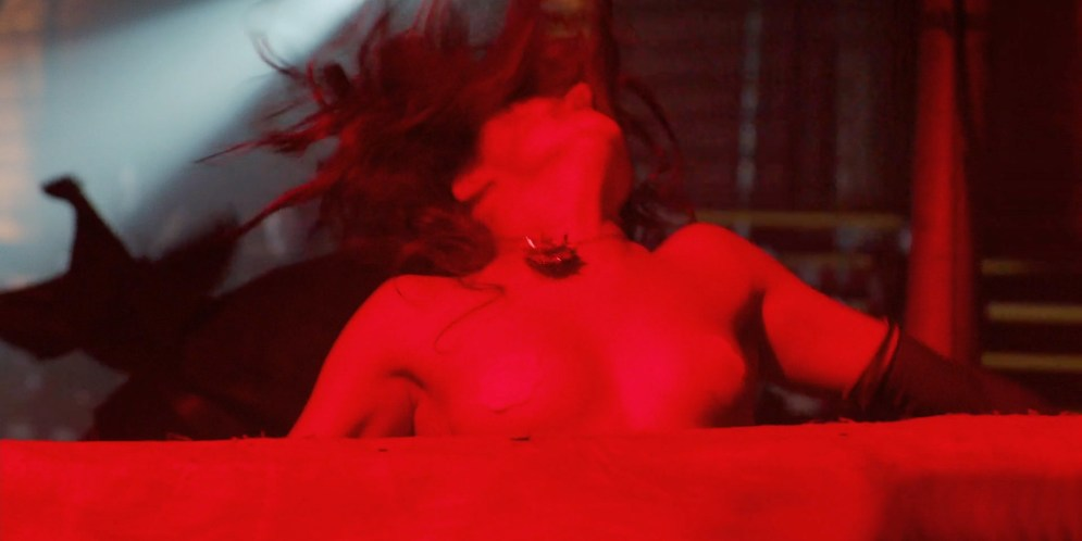 Briana Evigan nude topless with pasties - The Devil's Carnival (2012) hd1080p. (2)