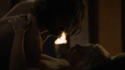 Rosabell Laurenti Sellers nude topless and Emilia Clarke nude but covered and sex - Game of Thrones (2015) s5e7 hd720-1080p (15)