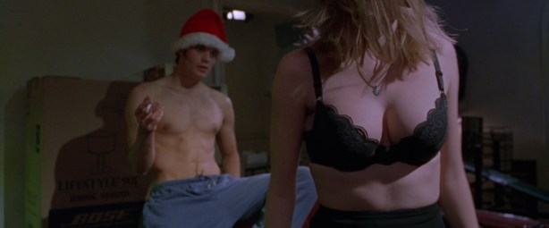 Sarah Polley not nude hot cleavage Nikki Fritz nude topless and others all nude - Go (1999) hd1080p (10)