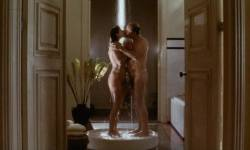 Toni Collette nude bush labia Polly Walker nude full frontal hand job others nude too - 8½ Women (1999) (17)