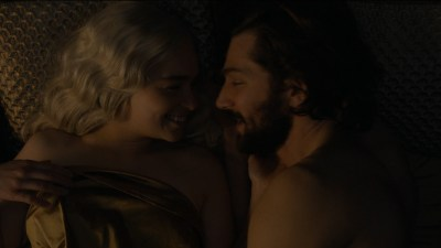 Rosabell Laurenti Sellers nude topless and Emilia Clarke nude but covered and sex - Game of Thrones (2015) s5e7 hd720-1080p (7)