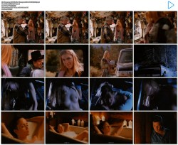 Alina Thompson nude topless and sex in the car - Dead Cold (1996) (6)