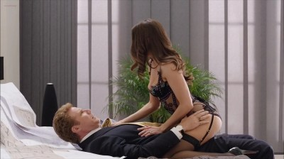 Alison Brie hot in lingerie and uber sexy - Get Hard (2015) Web-DL hd1080p (15)