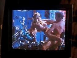 Bo Derek nude bush topless sex and skinny dipping - Woman of Desire (1994) (2)