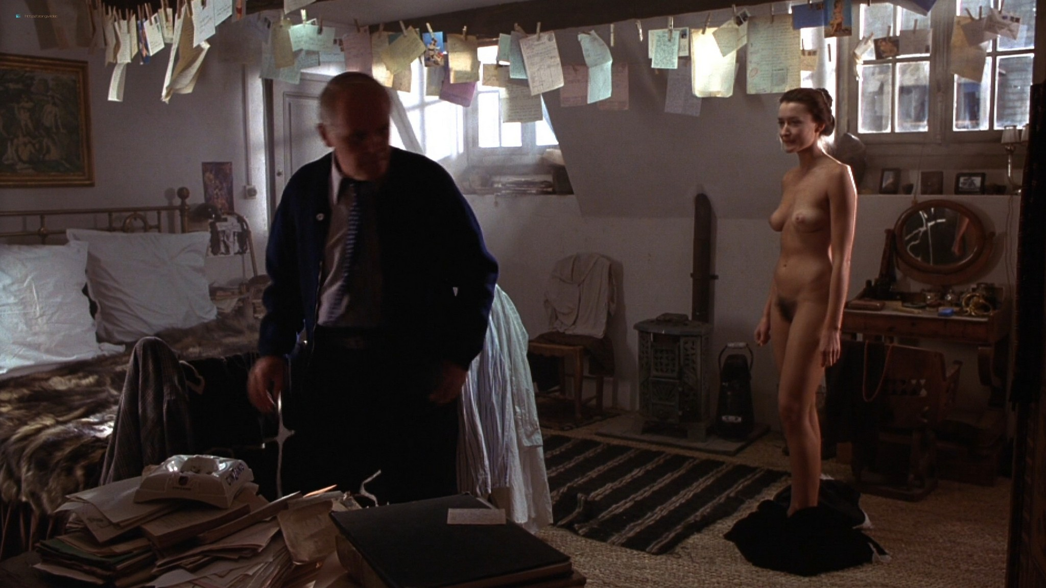 Natascha McElhone nude full frontal and topless - Surviving Picasso (1996) HD 1080p Web (5)