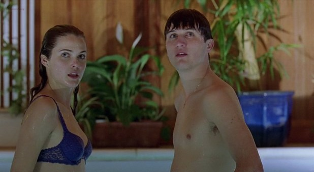 Keri Russell hot sexy and wet - Mad About Mambo (2000) (1)
