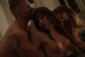 Naturi Naughton nude sex in the shower Kaitlin Mesh & Rachel Annette Helson nude sex threesome - Power (2015) s2e2 hd720p (3)