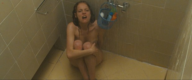 Bijou Phillips nude in shower and nude breastfeeding - It's Alive (2008) hd1080p (2)