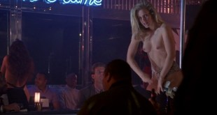 Brittney Powell nude topless as stripper - Fled (1996) (1)