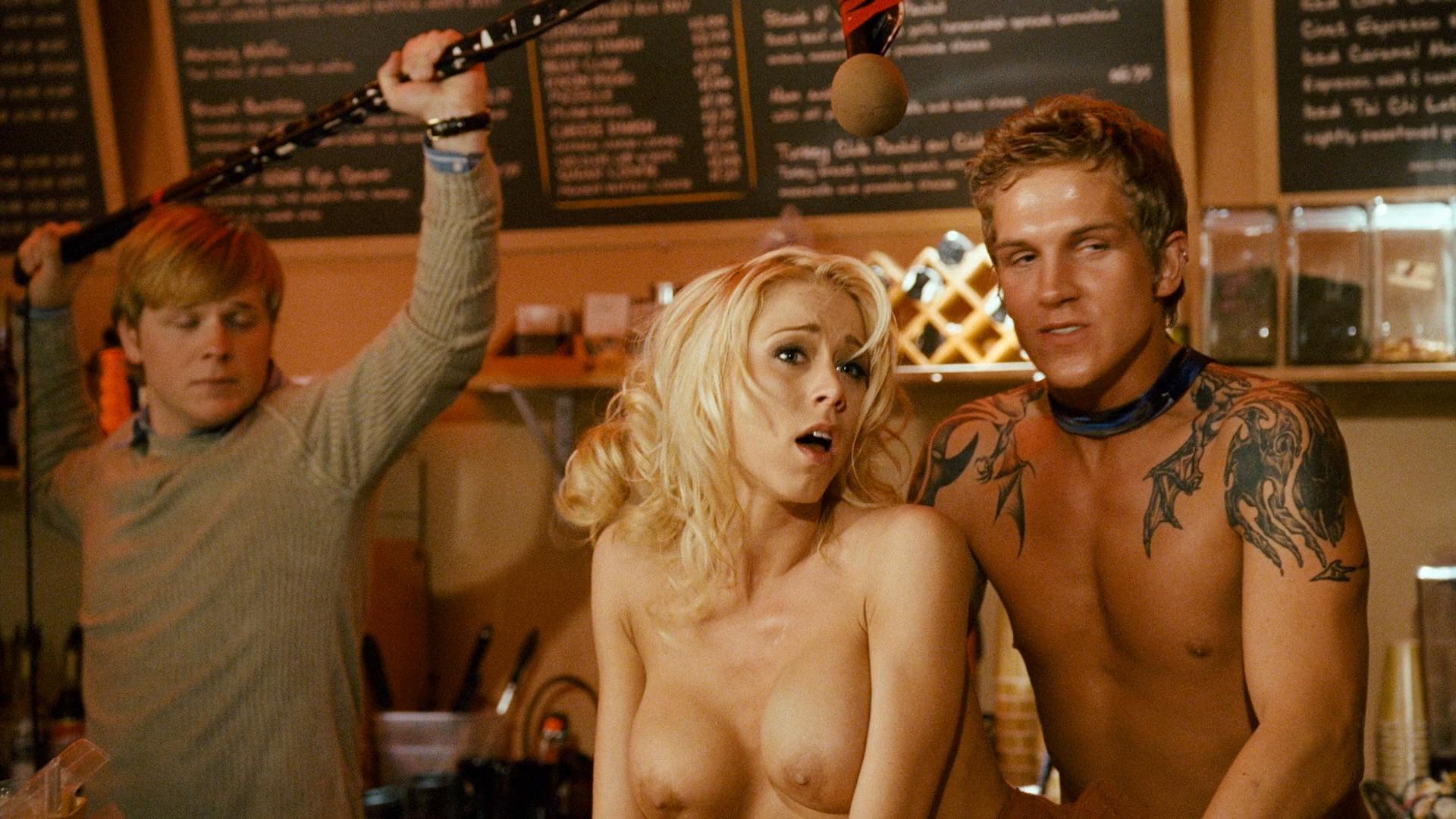 Zack and miri make a porno nude scene