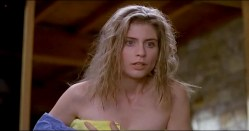 Helen Slater nude topless and nude while changing - A House in the Hills (1993) (14)