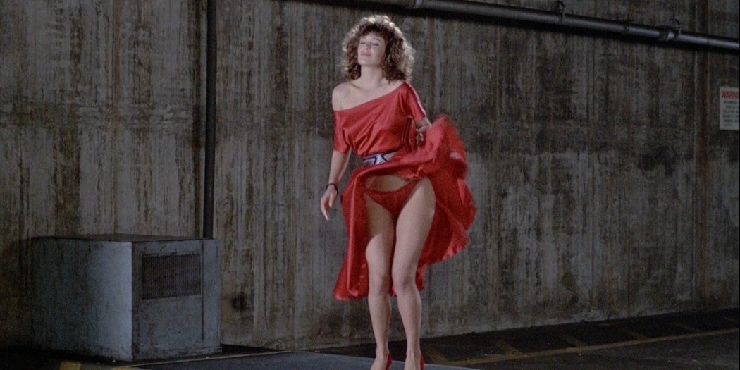 Kelly LeBrock nude brief topless and bush - The Woman in Red (1984) HD 1080p BluRay (17)