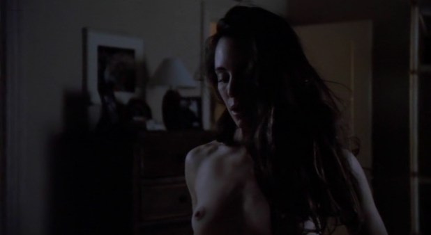 Madeleine Stowe nude topless butt and sex and Sherrie Rose nude - Unlawful Entry (1992) (12)