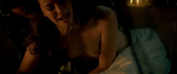 Madeleine Stowe nude topless wet and uber hot - Revenge (1990) hd1080p BluRay (12)