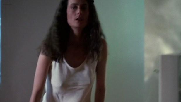 Mel Harris hot in panties and pokies - K-9 (1989) (4)