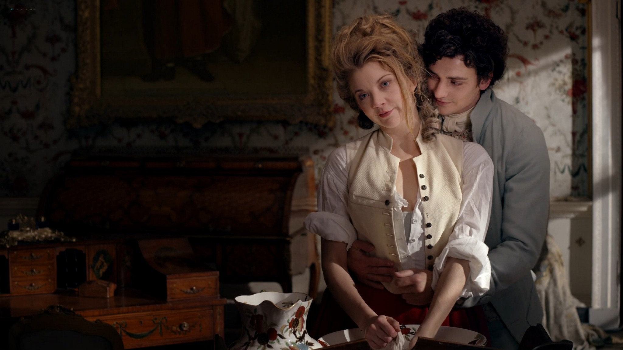 Natalie Dormer nude shy nipple and lot of sex – The Scandalous Lady W (2015) HD 1080p Web (12)