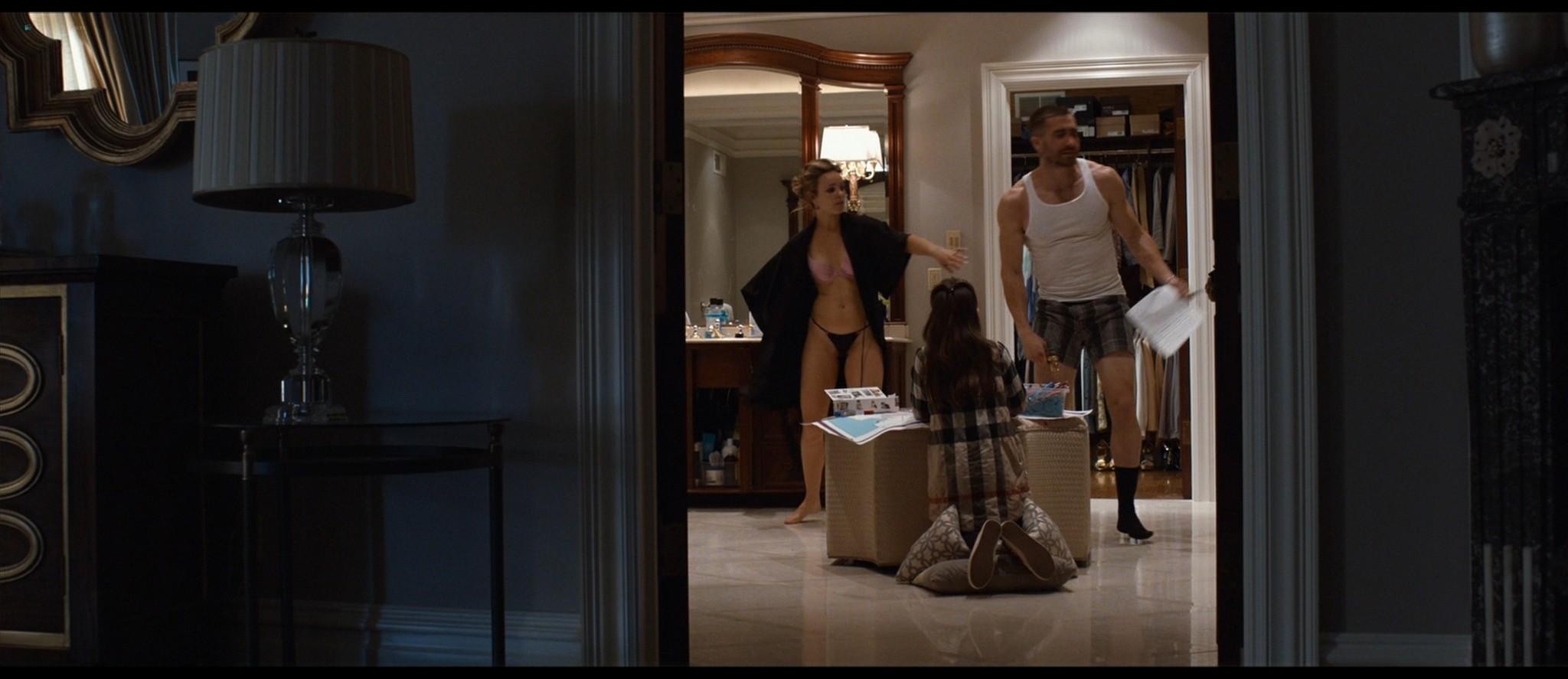 Rachel McAdams hot in panties and bra - Southpaw (2015) HD 1080p BluRay (3)