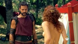 Ana de Armas hot see through Nathalie Poza and others nude too - Hispania, la leyenda S01E1-2 (ES-2010) (11)