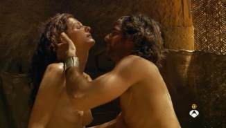 Ana de Armas hot see through Nathalie Poza and others nude too - Hispania, la leyenda S01E1-2 (ES-2010) (7)