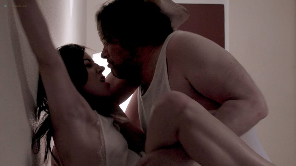 Aubrey Plaza nude more nipple slip and hot sex - Ned Rifle (2014) HD 1080p BluRay (4)