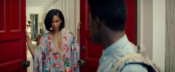 Chanel Iman nude topless - Dope (2015) HD 1080p BluRay (14)