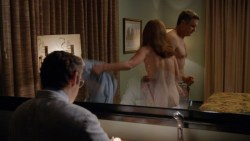 Lizzy Caplan nude brief topless and hot sex and Emily Kinney nude too - Masters of Sex (2015) s3e9 hd720-1080p (2)