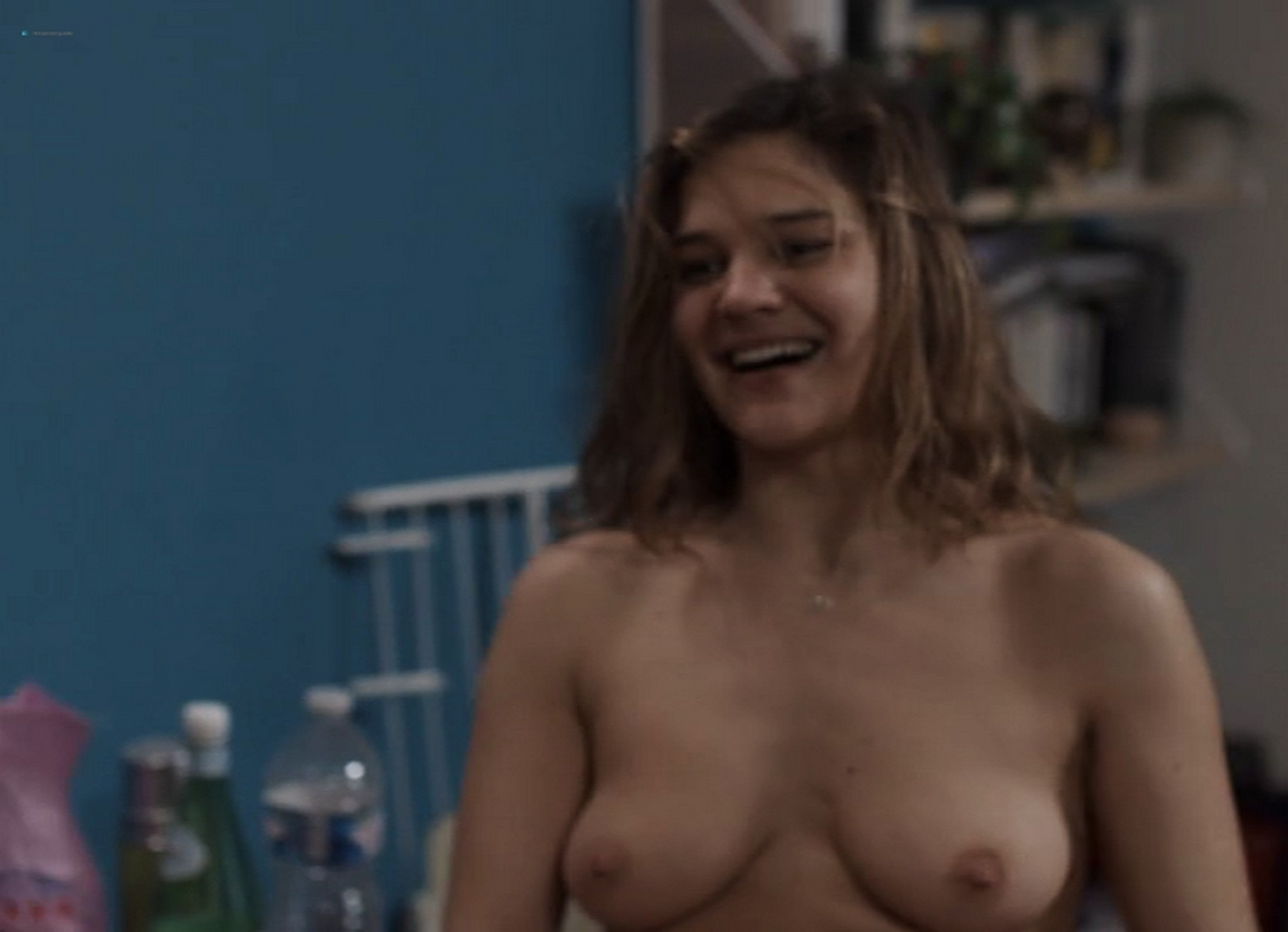 Marie Denarnaud nude full frontal nude boobs and labia - Une Histoire Banale (FR-2014) (12)