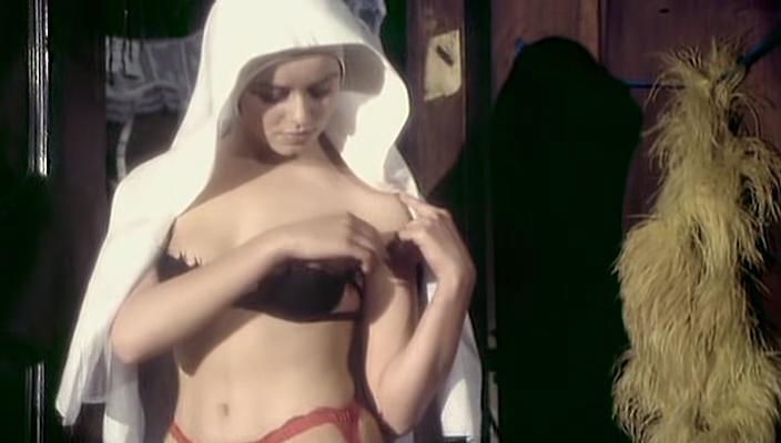 Gloria Guida nude bush and Femi Benussi nude- La novizia (IT-1975) (5)