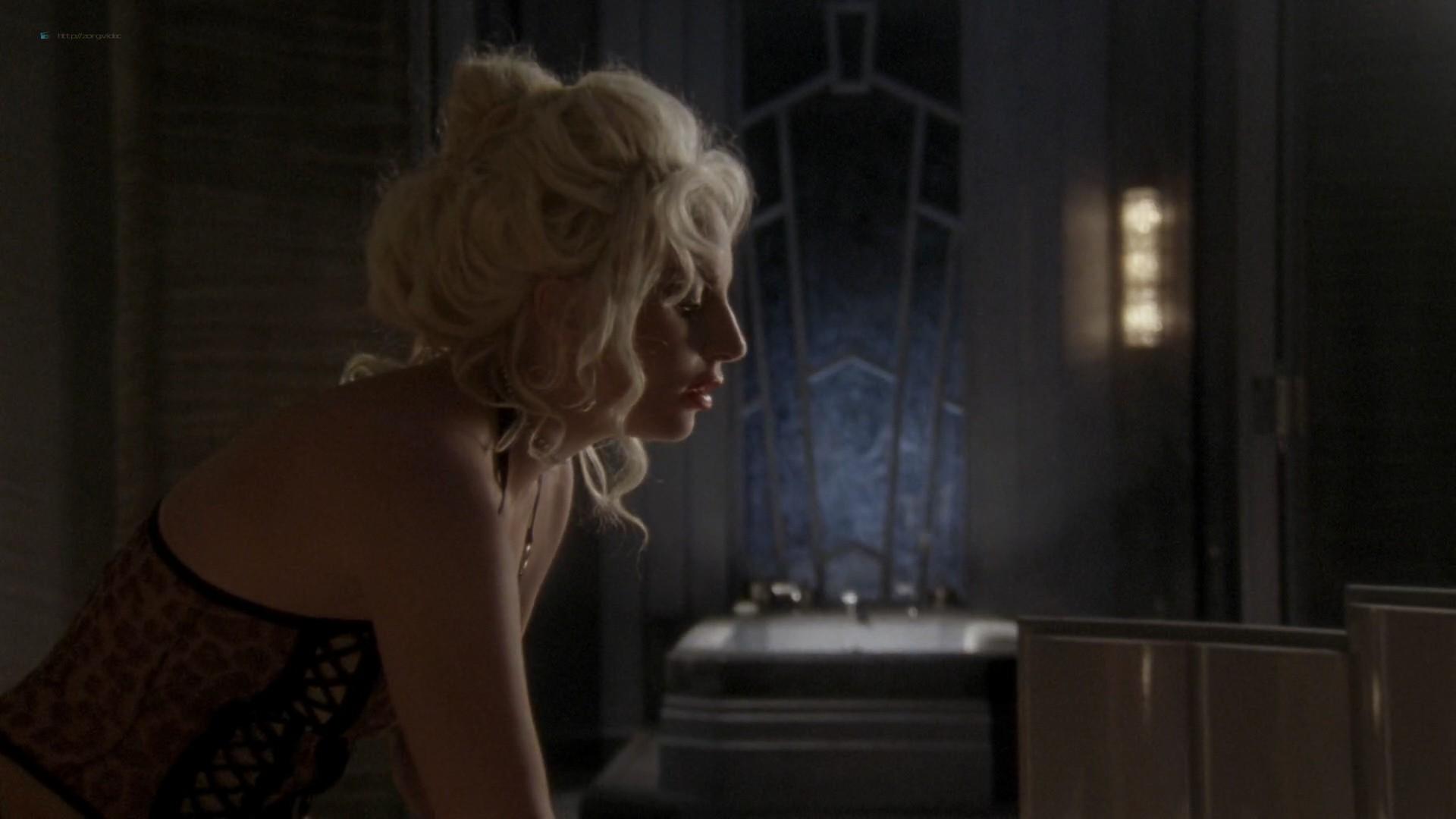 Lady Gaga and Angela Bassett hot lesbian sex - American Horror Story (2015) s5e3 HD 1080p (11)