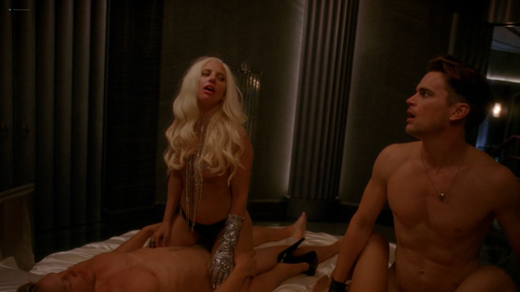 Lady Gaga butt in thong Chasty Ballesteros hot – American Horror Story s05e01 (2015) HD 1080p (2)