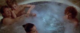 Lysette Anthony nude boobs Ellen Barkin, Tea Leoni and others hot - Switch (1991)