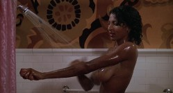 Pam Grier nude in shower and Rosalind Miles nude too - Friday Foster (1975) HD 720p BluRay (6)
