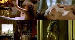 Valeria Golino nude bush and nude boobs - Il sole nero (IT-2007)