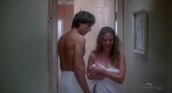 Virginia Madsen nude in the shower and Mariel Hemingway nude - Creator (1985) HDTV 720p (6)