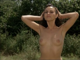Ramona Badescu nude topless and nude butt - Le Nuove Comiche (IT-1994).