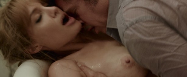 Angelina Jolie nude topless and Melanie Laurent nude sex - By The Sea (2015) HD 1080p WEB-DL UNCUT (12)