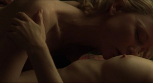 Cate Blanchett nude and Rooney Mara nude topless and lesbian sex - Carol (2015) HD 1080p BluRay (4)