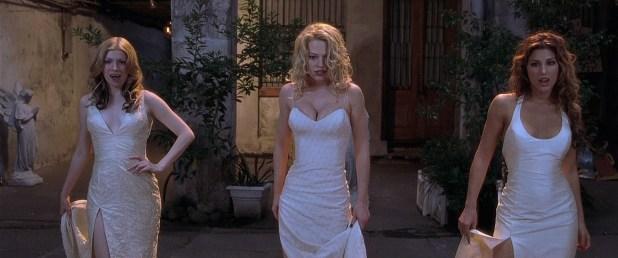 Jeri Ryan hot, Vitamin C nude topless and Jennifer Esposito hot cleavage - Dracula 2000 (2000) HD 1080p BluRay 5