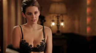Keeley Hazell hot in black lingerie - The Royals (2015) s2e4 HD 720-1080p