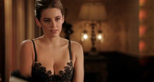 Keeley Hazell hot in black lingerie - The Royals (2015) s2e4 HD 720-1080p (4)