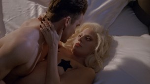 Lady Gaga nude topless with pasties and Maliabeth Johnson hot doggystyle - American Horror Story (2015) S05E09 HD 1080p (10)