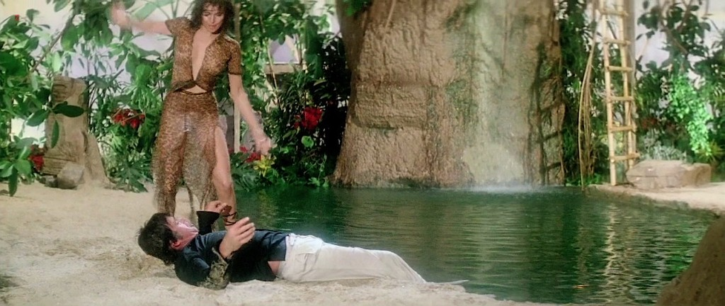 Raquel Welch hot cleavage wet and see through - L'animal (1977 hd720p (11)