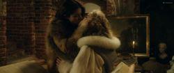 Sarah Gadon nude nipple and Malin Buska nude and lesbian sex – The Girl King (2015) HD 1080p BluRay (14)