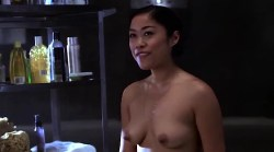 Tara Subkoff nude topless, Tiffany Limos nude butt and sex other's nude too - Teenage Caveman (2001) (11)