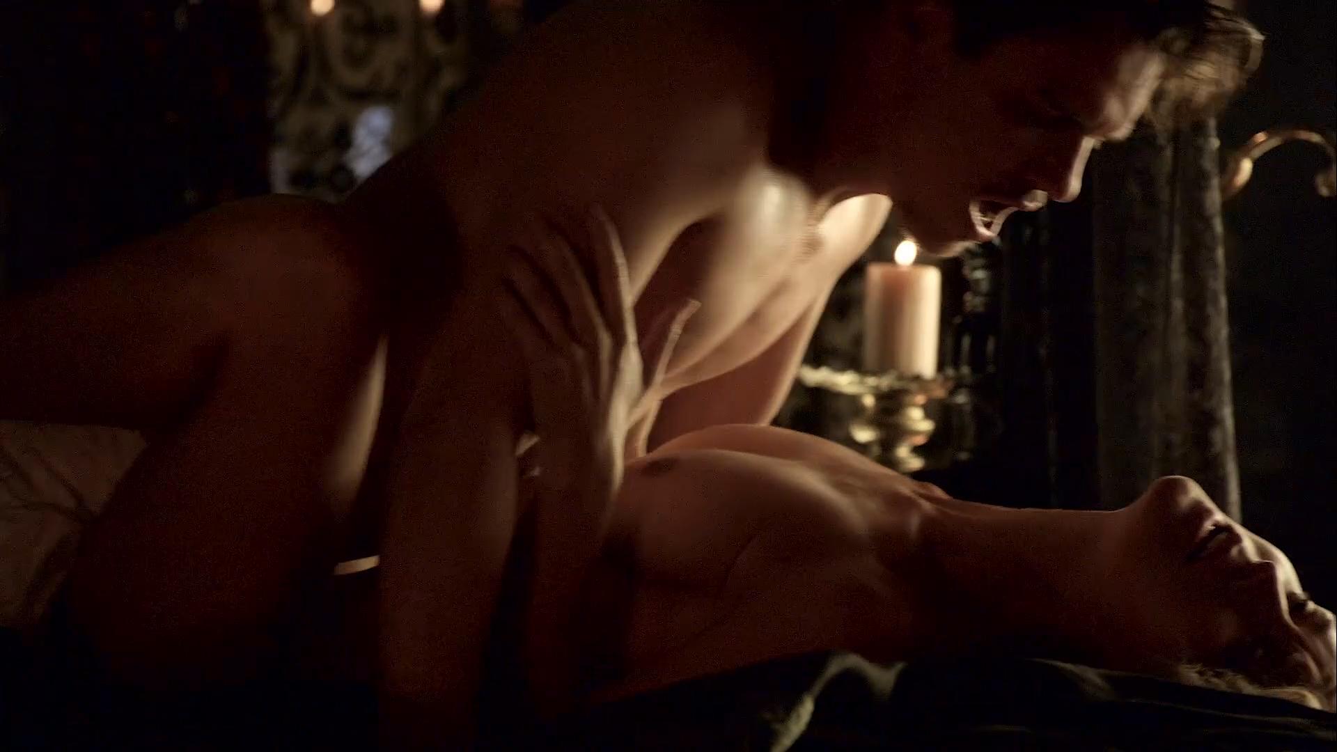 Fiona Ryan Breasts Scene In The Tudors