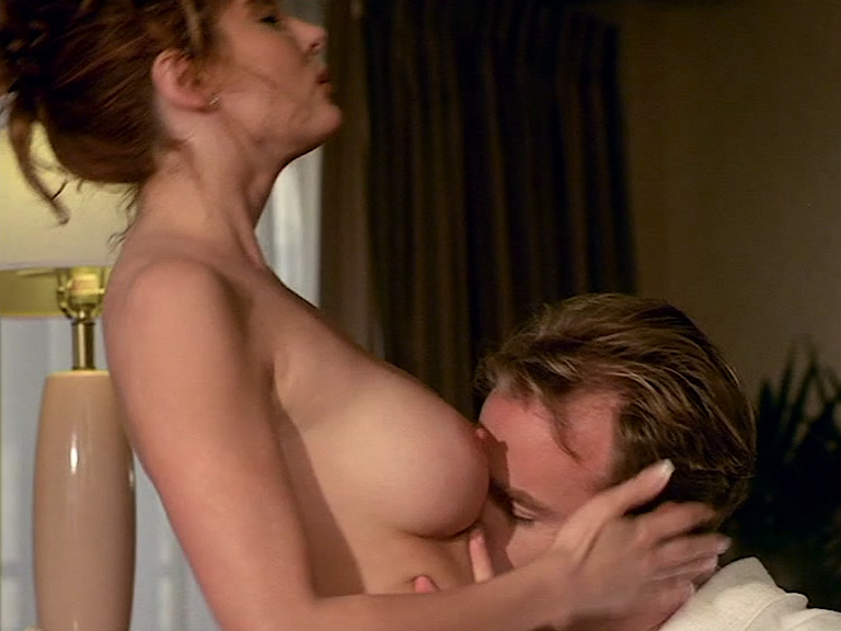 Cinzia Roccaforte nude butt and nude huge boobs, Lisa Comshaw nude sex - La Iena (1997) (5)