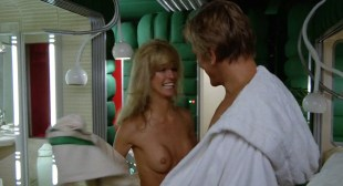 Farrah Fawcett nude brief topless and very hot - Saturn 3 (1980) HD 1080p BluRay