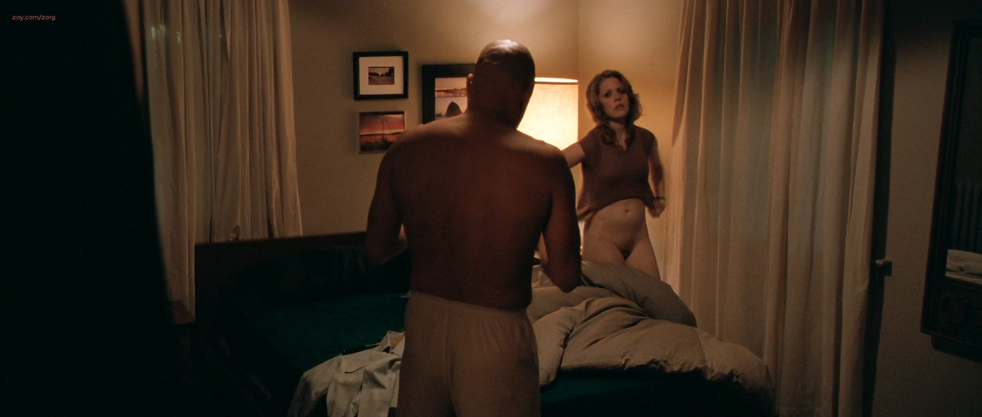 Jena Malone nude butt, boobs and Lisa Joyce nude full frontal - The Messenger (2009) HD 1080p (9)