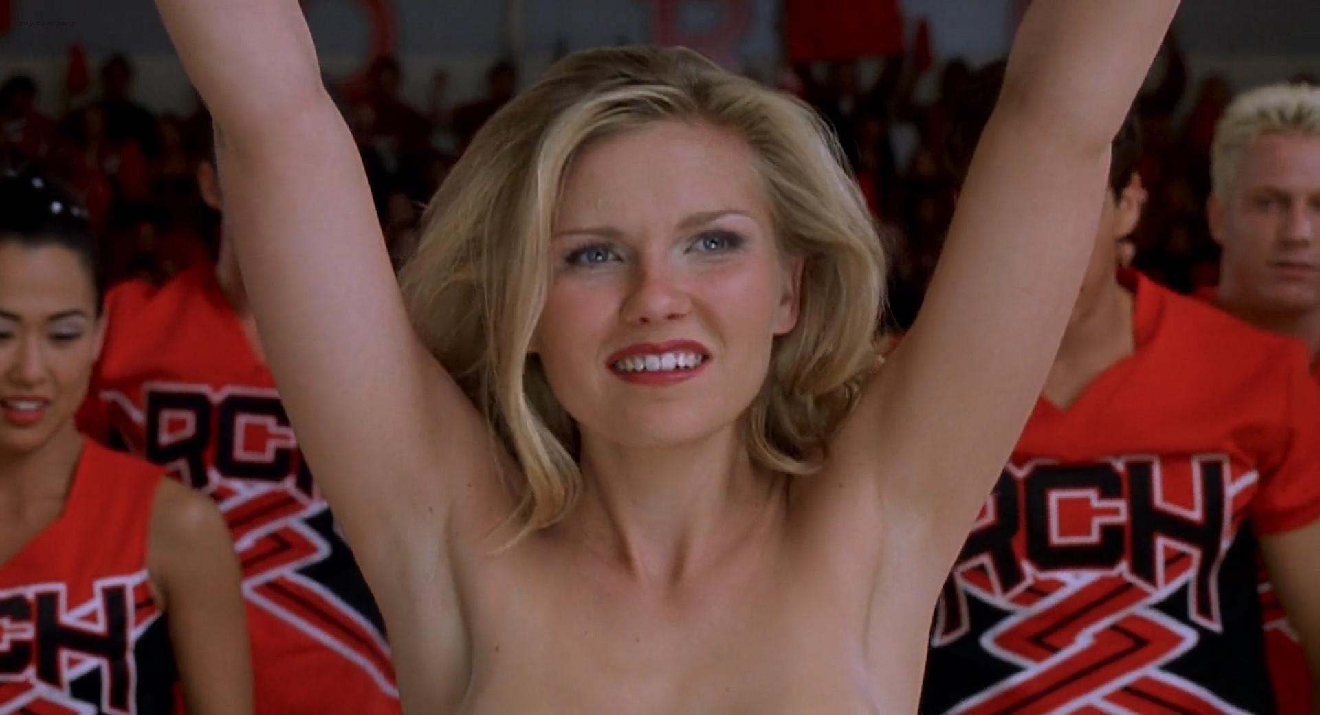 Kirsten Dunst hot bra and panties Eliza Dushku hot bikini - Bring It On 2000 HD 1080p BluRay (4)