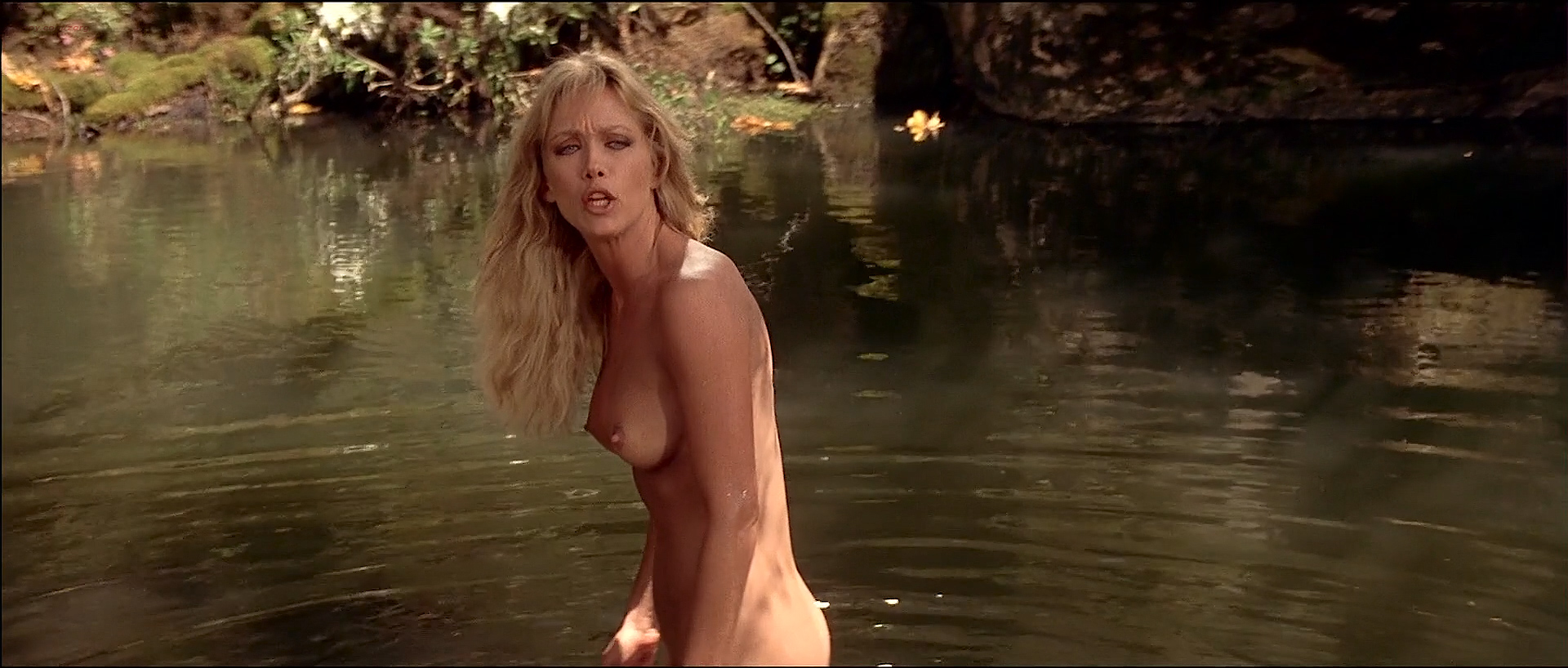 Tanya Roberts nude topless butt and France Zobda nude butt - Sheena (1984) HDTV 1080p (8)